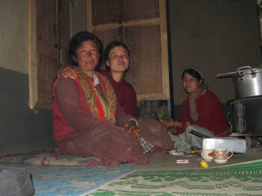 Familie von Mr. Gesersing in Darcha